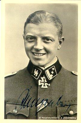 Fritz Klingenberg Ss Signed Photo