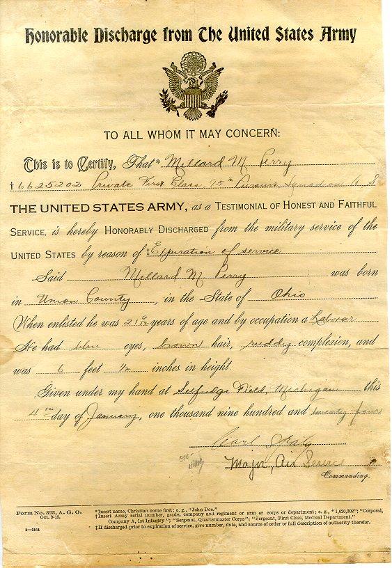 U.S. Army Documents